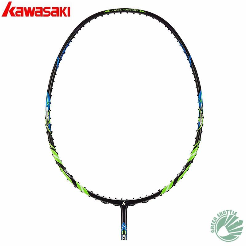 2020 Genuine Kawasaki 30T High Rigidity Carbon Fiberr Tension 666 Ad Badminton Racket   G5 Racquets With Gift