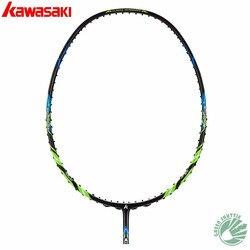 2020 Genuine Kawasaki 30T di Alta Rigidità Carbonio Fiberr Tensione 666 Ad Racchetta Da Badminton G5 Racchette Con Il Regalo