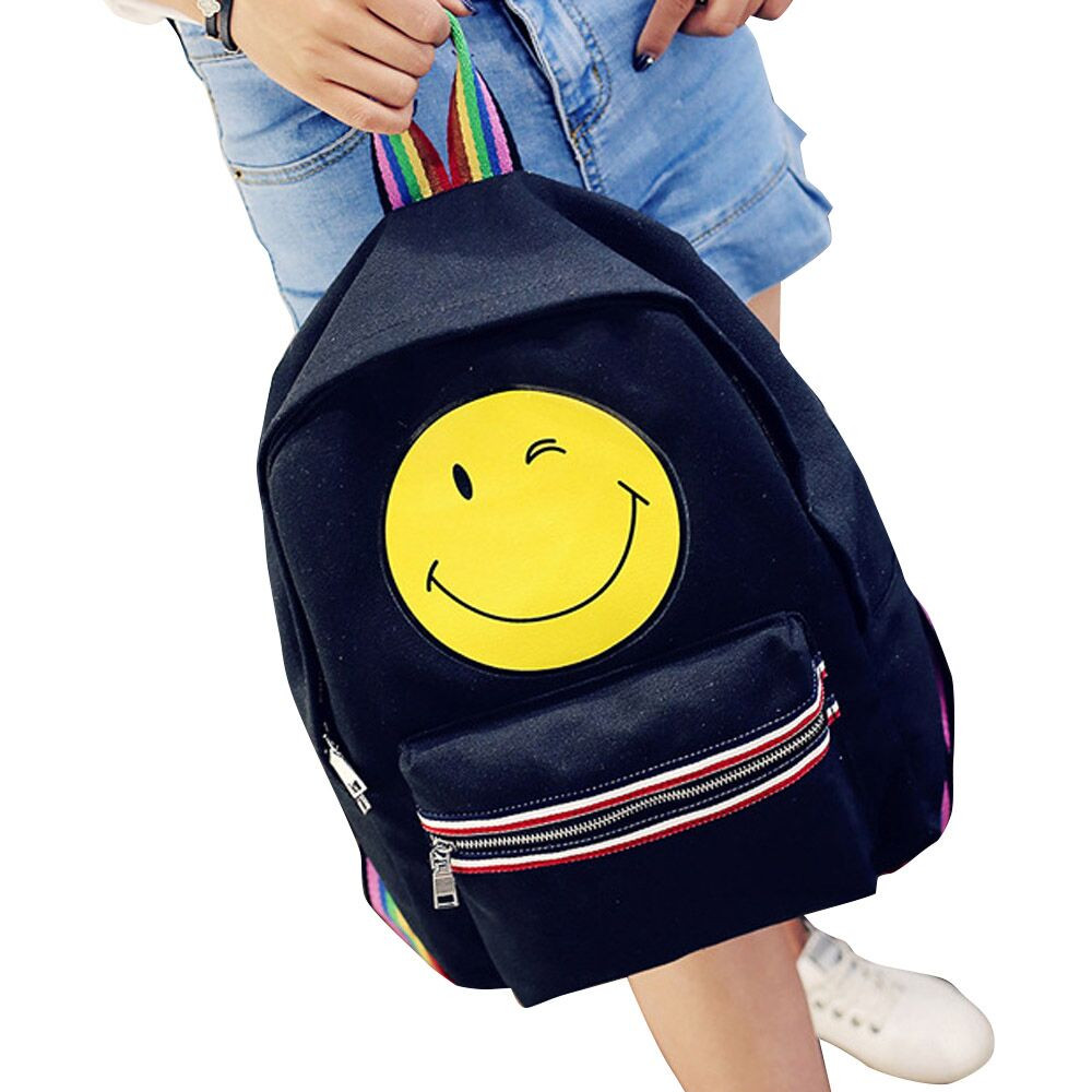 2016 Quality Guarantee Fashion Canvas Satchel Backpack Rucksack Shoulder School Bag Women Backpack zaini scuola ragazze Anne