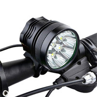 ISHOWTIENDA Cycling Light Frame 38000LM 15 x CREE XM L T6 LED 6 x 18650 Bicycle Cycling Light Waterproof Lamp Accessories