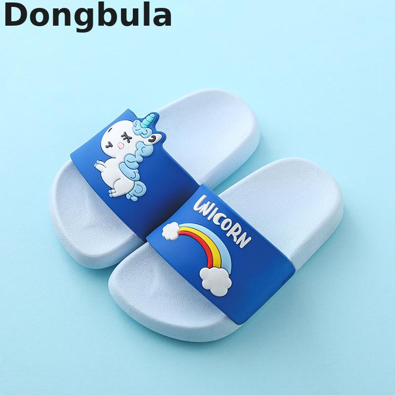 summer Childrens Slippers For Boys Girls Baby Slippers PVC Soft Bottom Non-slip Beach Sandals Kids Cartoon Bathroom Flip Flopssummer Childrens Slippers For Boys Girls Baby Slippers PVC Soft Bottom Non-slip Beach Sandals Kids Cartoon Bathroom Flip Flops