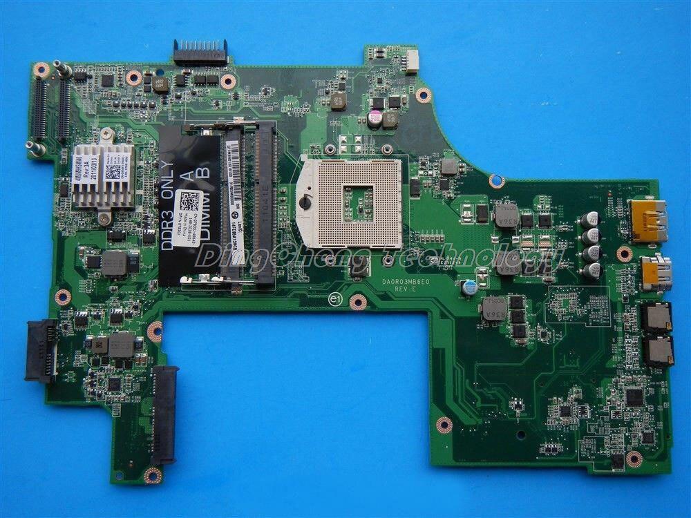 SHELI laptop Motherboard for dell N7110 07830J CN-07830J DA0R03MB6E0 PGA989 Integrated DDR3 100% Tested sheli for dell m5010 motherboard integrated yp9np 0yp9np cn 0yp9np