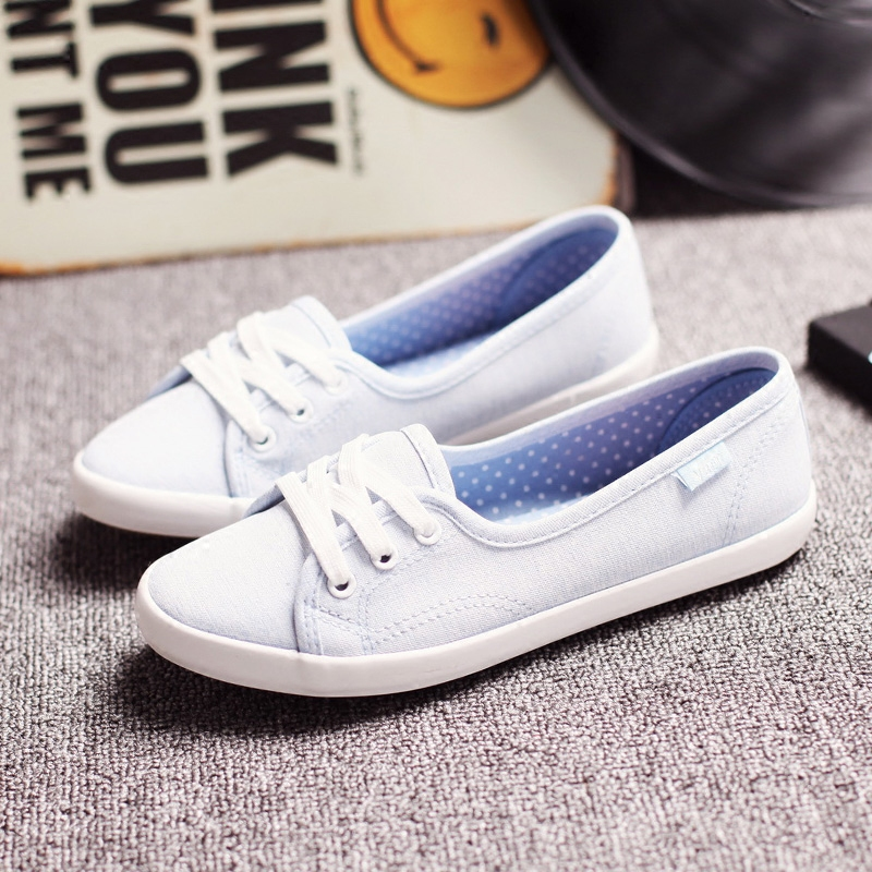 Women Shoes Ballet Flats Loafers Casual Breathable Women Flats Slip On Fashion Canvas Shoes Women White Shoes 1h21 usb laser handheld barcode scanner reader for desktop laptop 2m cable page 8
