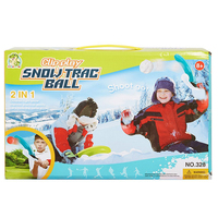 Flexible Flyer Snowball Maker Outdoor Sport Game Launcher Snow Shovel Scoop