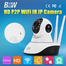 HD 720P IP Camera P2P WiFi Wireless CMOS IR-Cut Day and Night Vision Network CCTV Onvif Indoor IP 3.6mm Endoscope Audio Recorder