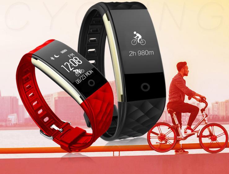 Bluetooth Multi Sport Smart Watch Frauen Männer Pulsmesser Radfahren - Intelligente Elektronik