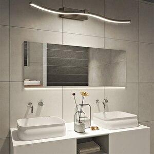 Image 2 - Современные светодиодные зеркальные фары, декоративные настенные светильники для ванной комнаты, новый дизайн, креативные зеркальные лампы для дома