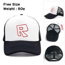 6f030cfa Fashion Roblox Cap Children's Summer Sun Hats Caps Cartoon Baseball  Snapback Hats Gift For Children's Birthday Party
