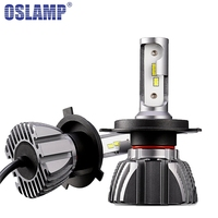 Oslamp H4 H7 H11 H1 9005 9006 Car LED Headlight Bulbs 50W 6500K 8000lm CSP Chips