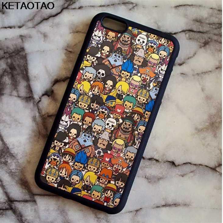 KETAOTAO аниме мультфильм одна часть серии телефонные чехлы для iPhone 4s 5C 5S 6 S 7 8 Plus XR XS Max для XCase мягкий резиновый из ТПУ силикона