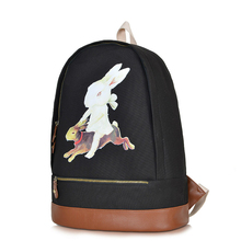 The New Institute Wind Restoring Ancient Ways Backpack Campus School Bags Canvas Contracted Large Capacity Backpack
