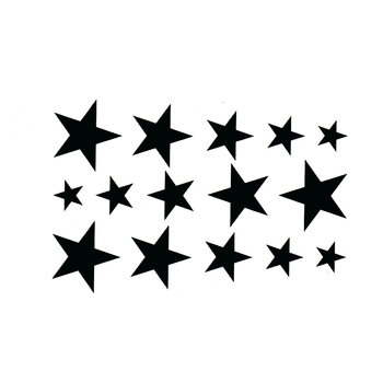 цена на Star Waterproof Temporary Tattoo Sticker Sexy Product 10.5*6cm harajuku sleeve tatoo pesca fake tattoo adesivo de parede