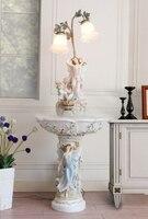 В Европейском стиле гостиной пол фонтан ангел украшения творческий свадебный подарок украшение большой увлажнитель вода фортепиано