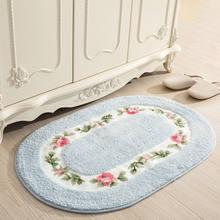 Мягкий поглощающий воду напольный коврик Противоскользящий для