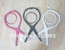Freeshipping    5 pçs/lote peruca stands plástico RÍGIDO para seco/estilo/cores 10 pentear perucas... não é fácil de quebrar
