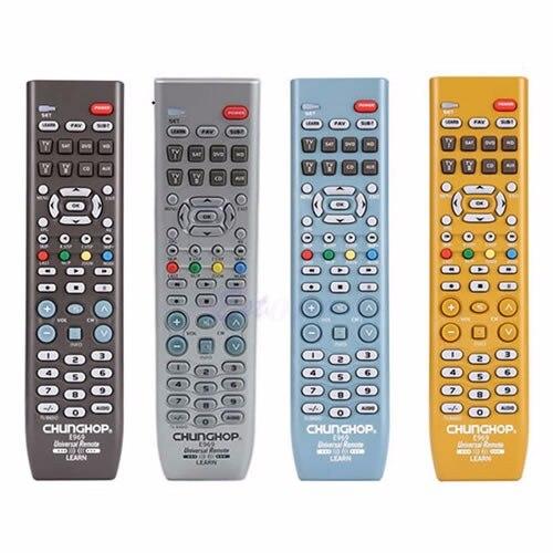 Chunghopnew et Smart 8in1 télécommande universelle TV PVR VDO DVD CD SAT AUD