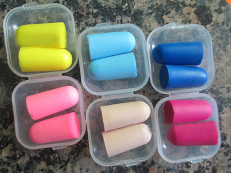 5Pairs/lot Boutique Comfort Noise Reduction Foam Soft Ear Plugs Box-packed Earplugs Protective For Sleep Slow Rebound Earplugs