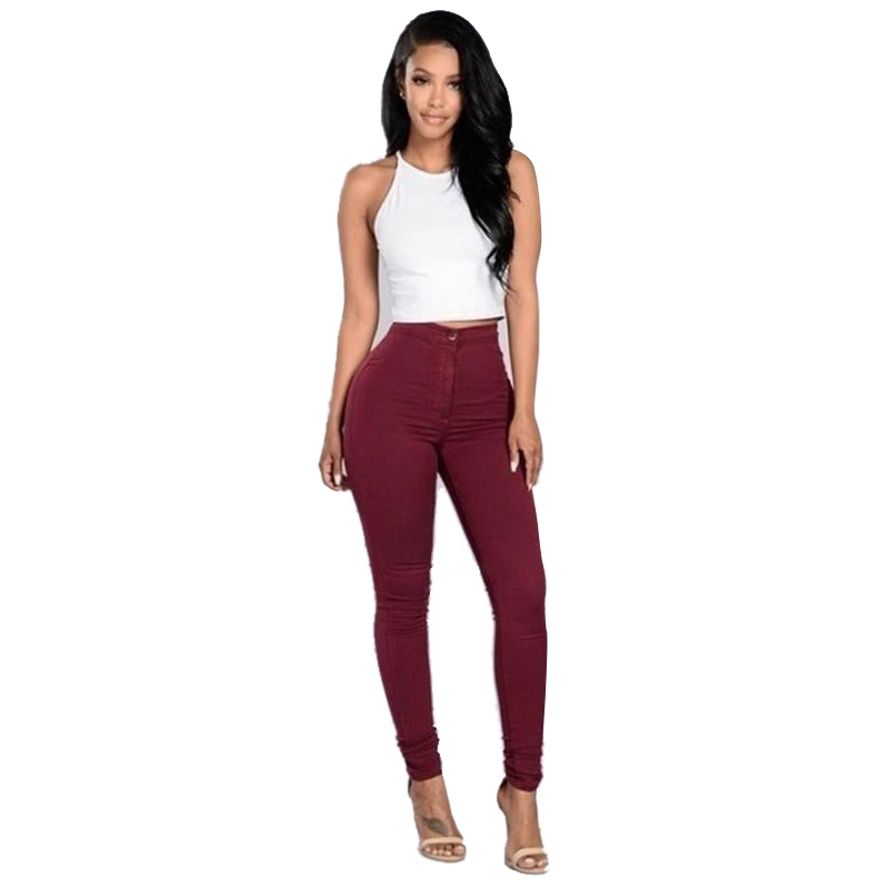 2017 New Fashion Plus Size Stretch Legging Female Pencil Womens Sexy Elastic Cotton Slim Leggins Women Workout Leggings Pants