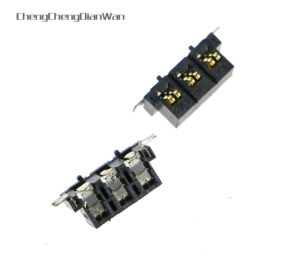 ChengChengDianWan 200pcs/lot original <font><b>battery</b></font> socket for <font><b>2ds</b></font> image