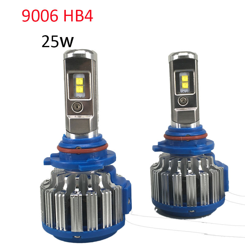 9006 <font><b>HB4</b></font> <font><b>LED</b></font> Car Headlight Bulb with <font><b>Cree</b></font> 50W 5000LM High Power <font><b>LED</b></font> Headlight 6000K <font><b>Led</b></font> Lamp 12V Kit for High Light and Low Beam image