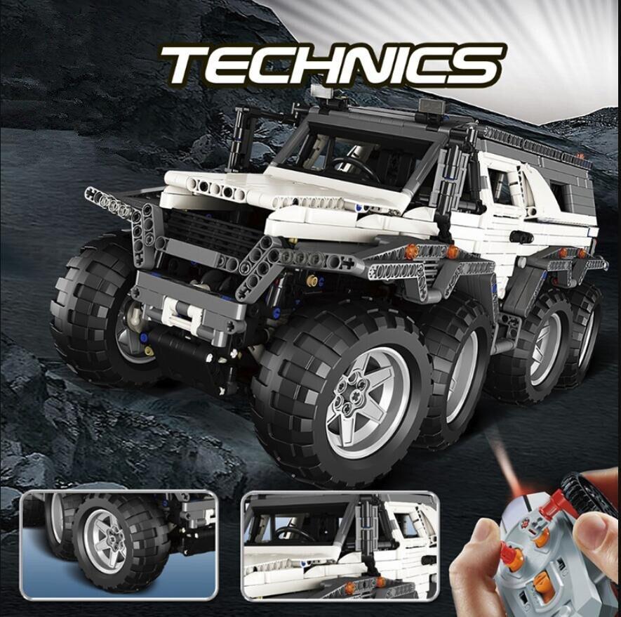 DHL  23011/23011B 2816Pcs Technic Series Off-road vehicle Model Building Kits Block Bricks Compatible legoed 5360