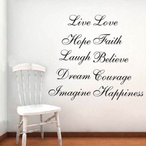 Image 4 - Stairs Decors Wall Art Quote Removable Stickers Vinyl Decals Home Decor US-in Wall Stickers from Home & Garden