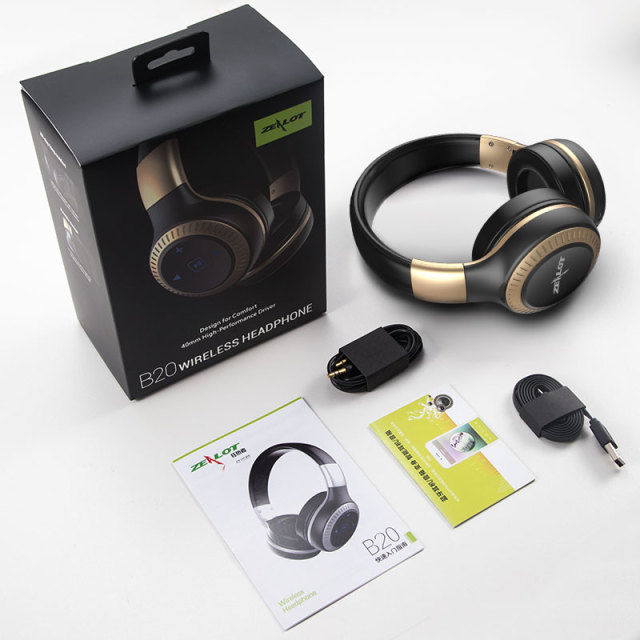 HiFi Stereo Wireless Bluetooth Headset 1