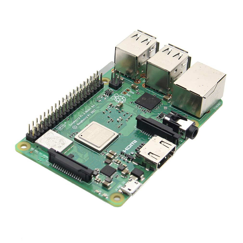 Raspberry Pi 3 Model B+ Mother Board Mainboard With BCM2837B0 Cortex-A53 64-bit Quad Core 2.4GHz & 5GHz Dual-band
