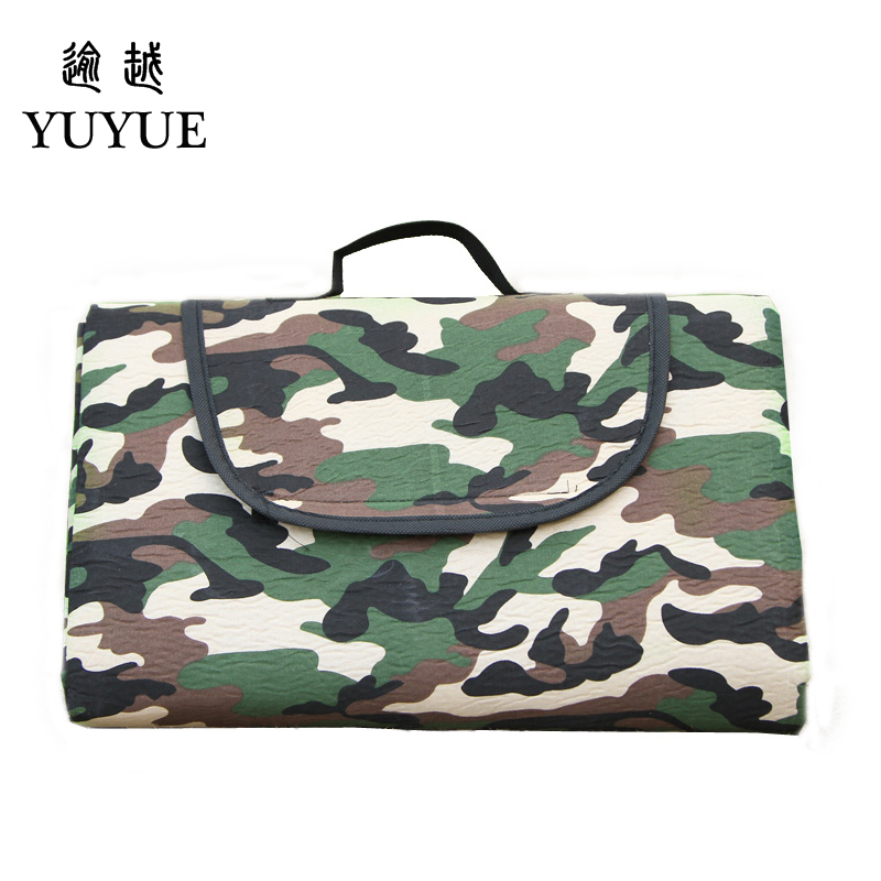 150*180cm camouflage picnic mat for the beach mattress picnic camping mat for outdoor BBQ camping picnic for military use 1
