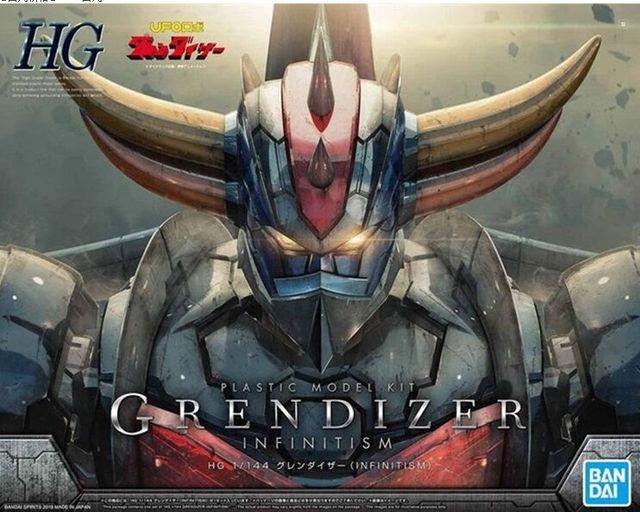 GRANDE MAZINGER Z INFINITY VER Gundam HG 1/144 figura giocattolo del pvc di modello di montaggio kit
