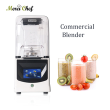 ITOP Commercial Blender 1.5L Mixer Multifunction Power Blender Juicer Smoothie Food Processor Grinder Reduce Noise Mixer itop commercial professional juicer ice crusher blender multifunctional kitchen appliance food mixer
