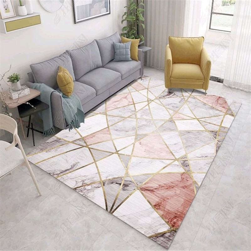 Marble stripe series carpet Nordic Modern simple bedroom rug and Carpets for Living room coffee table Rugs Bedside Antiskid MatMarble stripe series carpet Nordic Modern simple bedroom rug and Carpets for Living room coffee table Rugs Bedside Antiskid Mat