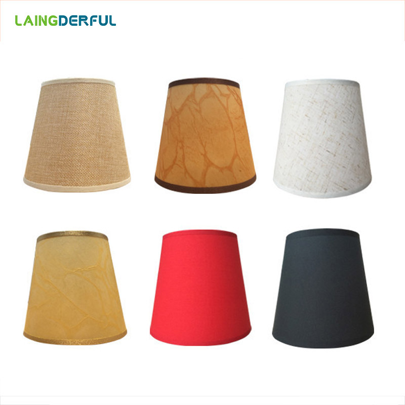 Art Deco Lampshades Nordic Style Fabric Lamp Cover For Chandeliers Crystal Lights Wall Lights Simple Lampshade Light Cover
