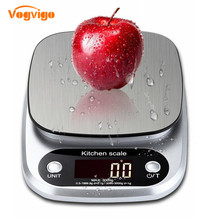 VOGVIGO Balance Cuisine Electronic Digital Kitchen Scales Food Scale Gadgets Electronic Scale Grams Kitchen Tool Scale .1g new portable milligram digital scale 30g x 0 001g electronic scale diamond jewelry pocket scale home kitchen
