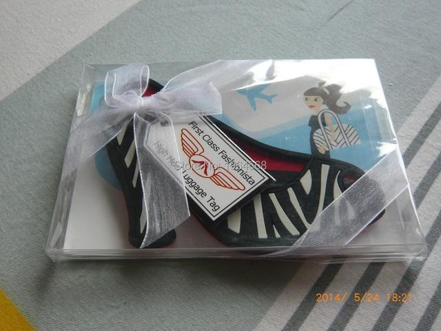 wedding favor gift Cinderella Slipper / High Heel Luggage Tag ...