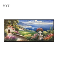 Mediterranean Landscape Painting Living Room And Poster Picture No Frame Canvas Wall Art Wall Picture Decorative Art Painting