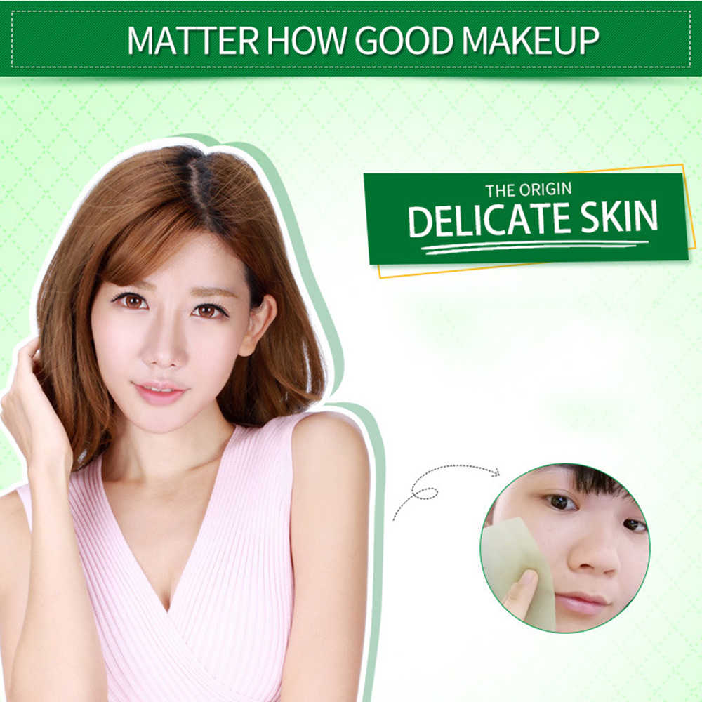 100PCS Oil Control Film Professional Facial Blotting Paper Face Absorbing Sheet Oil Absorbing Film Face Clear and Clean TSLM1