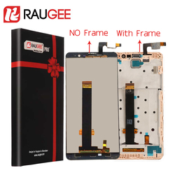 For Xiaomi Redmi Note 3 Pro LCD Screen+Touch Display with Soft-key Backlight/Middle Frame for Redmi Note 3/Prime 5.5''