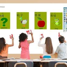 Лучшая, школьная умная классная интерактивная обучающая система, Мультитач магнитная доска для использования учителем