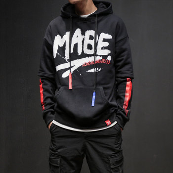 Sweat Capuche Hip hop Imprimer MABE