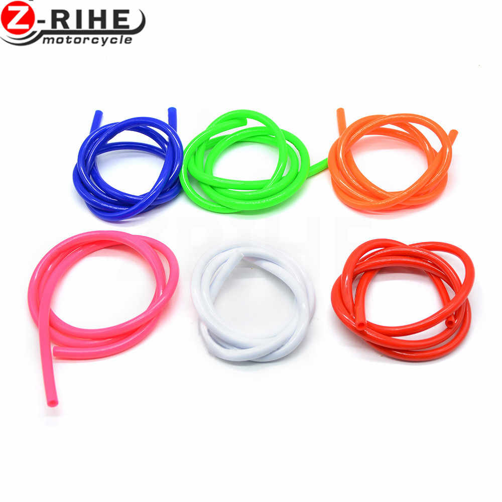 1M Colorful Gas Oil Hose Fuel Line Petrol Tube Pipe For Motorcycle Dirt Pit Bike ATV promotion low price For Honda Suzuki