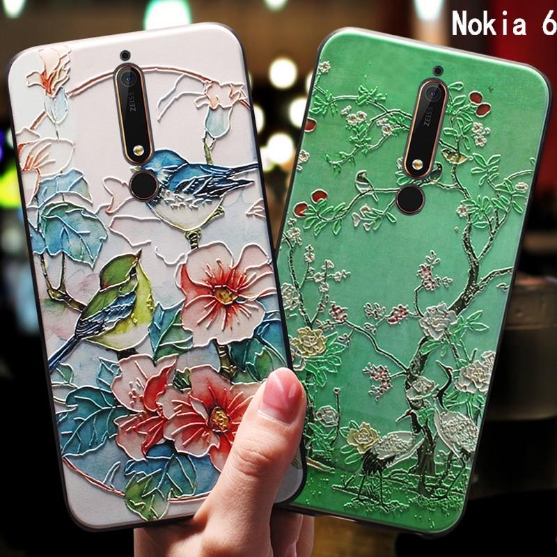 YueTuo 3d coque,cover,case For NOKIA 6 2017 5.5 Nokia6 2018
