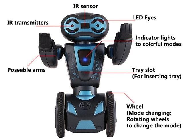 جهاز آلي ذكي يعمل بالإنسان للتحكم عن بعد ، جهاز آلي ذاتي التوازن ذكي ، 5 أوضاع تشغيل
