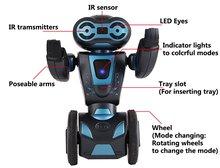 Intelligent Humanoid Robotic Remote Control Robot, Smart Self Balancing Robot, 5 Operating Modes