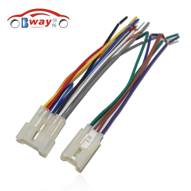 Car Radio Stereo Female ISO Plug Power Adapter Wiring Harness ...