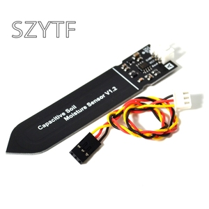 NEW ! Capacitive soil moisture sensor not easy to corrode wide voltage wire for arduino(China)