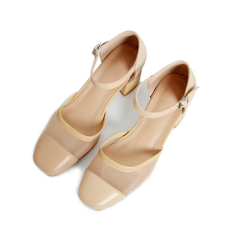 2017 New fashion high heels brand party women pumps square toe shallow buckle straps sweet office lady bling crystal shoes 08 2017 new fashion brand spring shoes large size crystal pointed toe kid suede thick heel women pumps party sweet office lady shoe