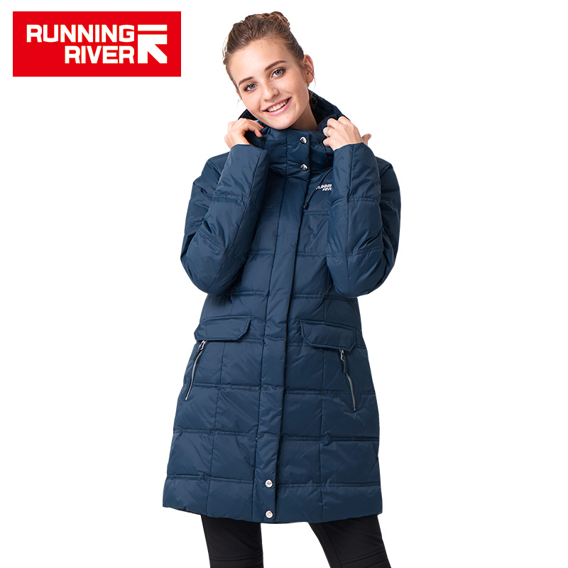 RUNNING RIVER Brand Winter Ski Jacket For Women 3 Colors Size S - 3XL Woman Waterproof Winter Outdoor Sports Overcoat #L4950 running river brand snowboard jacket for women 2 colors size s 3xl woven waterproof short women snowboard jacket a1246