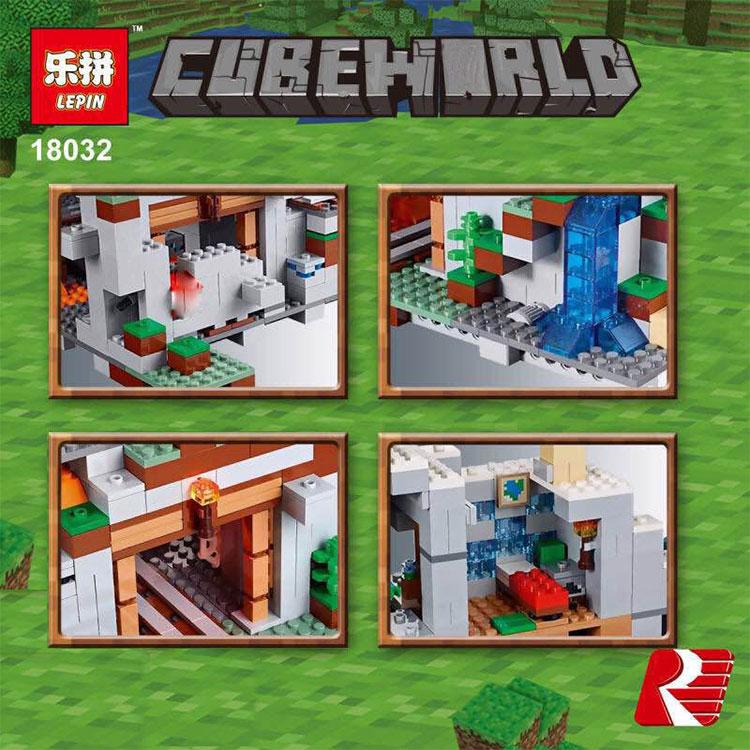 Blocos construção blocos tijolos miniecraft 2932 Tipo de Bloco de Plástico : Blocos Autotravantes