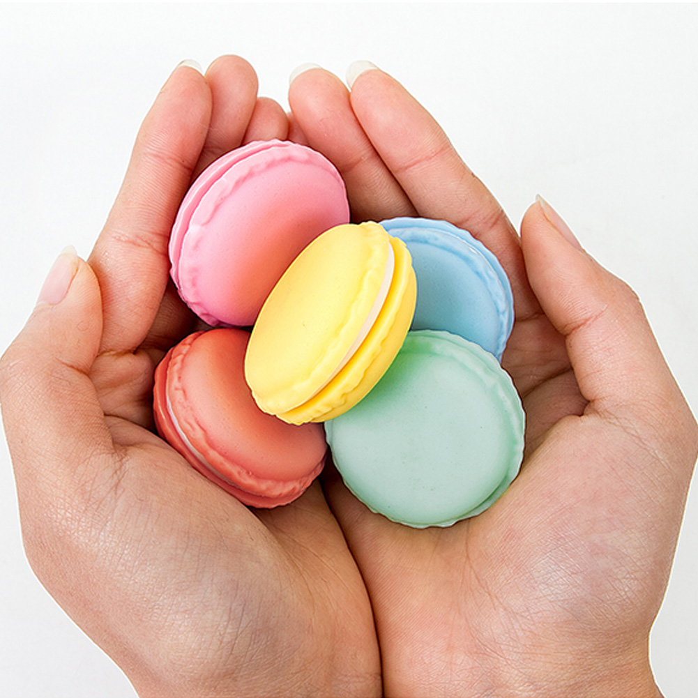 48pcs Lot Cute Candy Color Macaron Mini Macaron Sundries Storage Box Jewelry rings Box Pill Case Birthday Gift Box in Jewelry Packaging Display from Jewelry Accessories